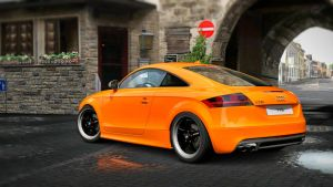 Audi TTS Coupe '09 by LS-Coloringlife