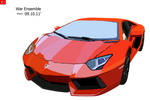 Lamborghini Aventador MS PAINT by D3516N3R