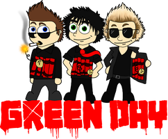 Green Day by LightOnTheSilhouette