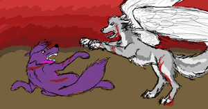 Red Skies - iScribble by Keitana