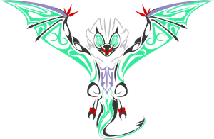 Noivern Tribal by Katlyon