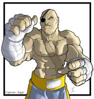 Sagat - Capcom by digitalninja