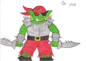 Warcraft II Orc Pirate by CARGOCAMP