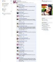 Sakura's Facebook part 1 on 4 by The-Monkey-is-red