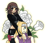 KiboIna Close Together by mslckitty