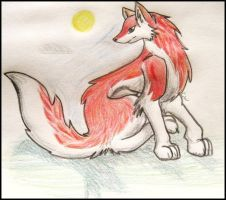 Red Wolf by Canine-Wild
