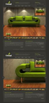 Concept - Web Layout by detrans