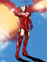 Iron Man tribute by KiKiKoy