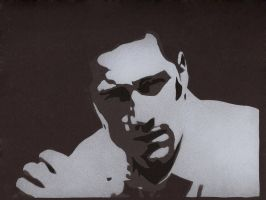Jack Shephard - Stencil by theraineydaze