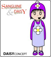S and D: Daisy Concept 2 by deathsun
