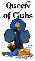 Queen of Clubs by urban-barbarian