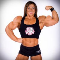 Sarah Hayes Muscle Morph by fatehound45