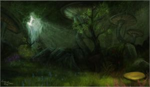 Fungal Grotto by Isriana