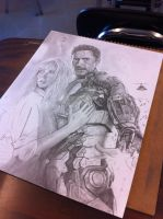 Iron Man 3 wip by Wanted75
