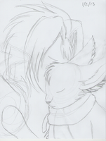 Zerev - Nuzzle (WIP) by AnimeFan4Eternity23