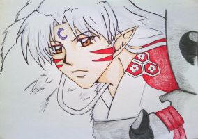 Lord Sesshomaru by CrystalizedBlood