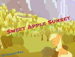 MLP Song Download - Sweet Apple Sunset by CloudyPax