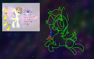 WIP Commission- Traveling the Cosmos by Princess-Corrine