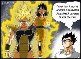 -DBM- Kakarotto VS Pan by DBZwarrior
