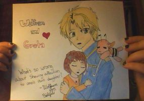 Greta's Second Father by AnimeMusic333
