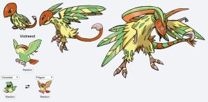 Fakemon Fusion Grass Starter by Eternity9