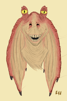 Jar Jar Binks by Garcho