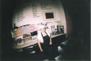 Fisheye Gelateria by fungopolly
