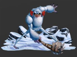 Snow Troll by CamaraSketch