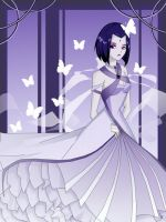 Raven's Wedding Dress? by teentitans