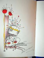 The Pin Cushion Queen by RoxaneLys