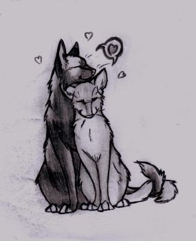 Love at first sniff by Zincwolf
