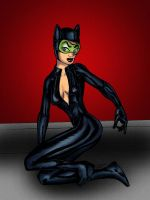 CatWoman Inks0001 by Rene-L