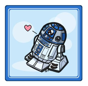Droid Love by GoblinQueeen