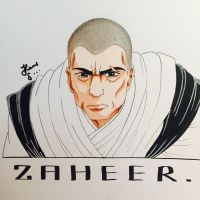 ZAHEER from legend of korra by Artistkaran