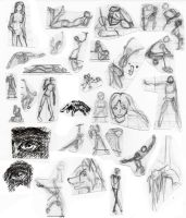 Gesture doodles by TheMim