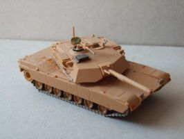 M1 Abrams Tank by the4ce