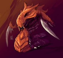Zerg Hydralisk by TheRisingSoul