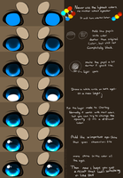 How I color eyes-tutorial by Yechii