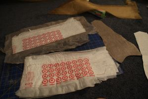 Upcycled Corset Making-of 3 by kbthreads