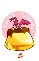 Pinkie Pudding! by norang94
