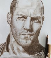 Draw Jason Statham by MiltonCesar