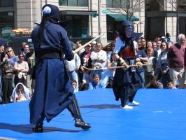 Kendo battle by moloko