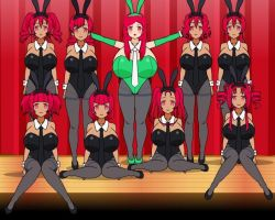 Plumpie Bombshell's Hypnotic Sexy Bunny Gurls Army by PlumpieBombshell
