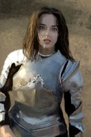 Girl in Armor - study by Wolkenfels