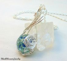 Blue Rose by BlackBlossomJewelry