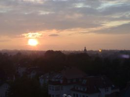 Sunset in my City by Spino2006