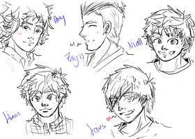 One Direction WIP by DodO4