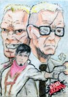 Alterna Originals Sketch Cards: American Terror by JasonShoemaker