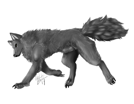 Wolf by GraveyardShifter