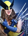 Lady Wolverine by TimeLordmk